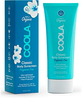 COOLA Organic Classic Body Lotion with SPF 50, 5 Fl Oz