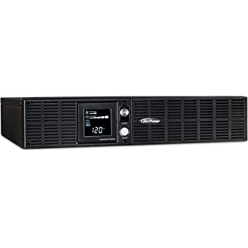 CyberPower OR2200PFCRT2U PFC Sinewave UPS System, 2000VA/1540W, 8 Outlets, AVR, 2U Rack/Tower,Black