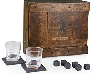 dallas cowboys whiskey set