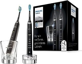 Philips 飞利浦Sonicare DiamondClean新一代电动牙刷 采用声波技术HX9357/87,2支装,黑色