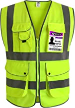 Best reflective work vest with pockets Reviews