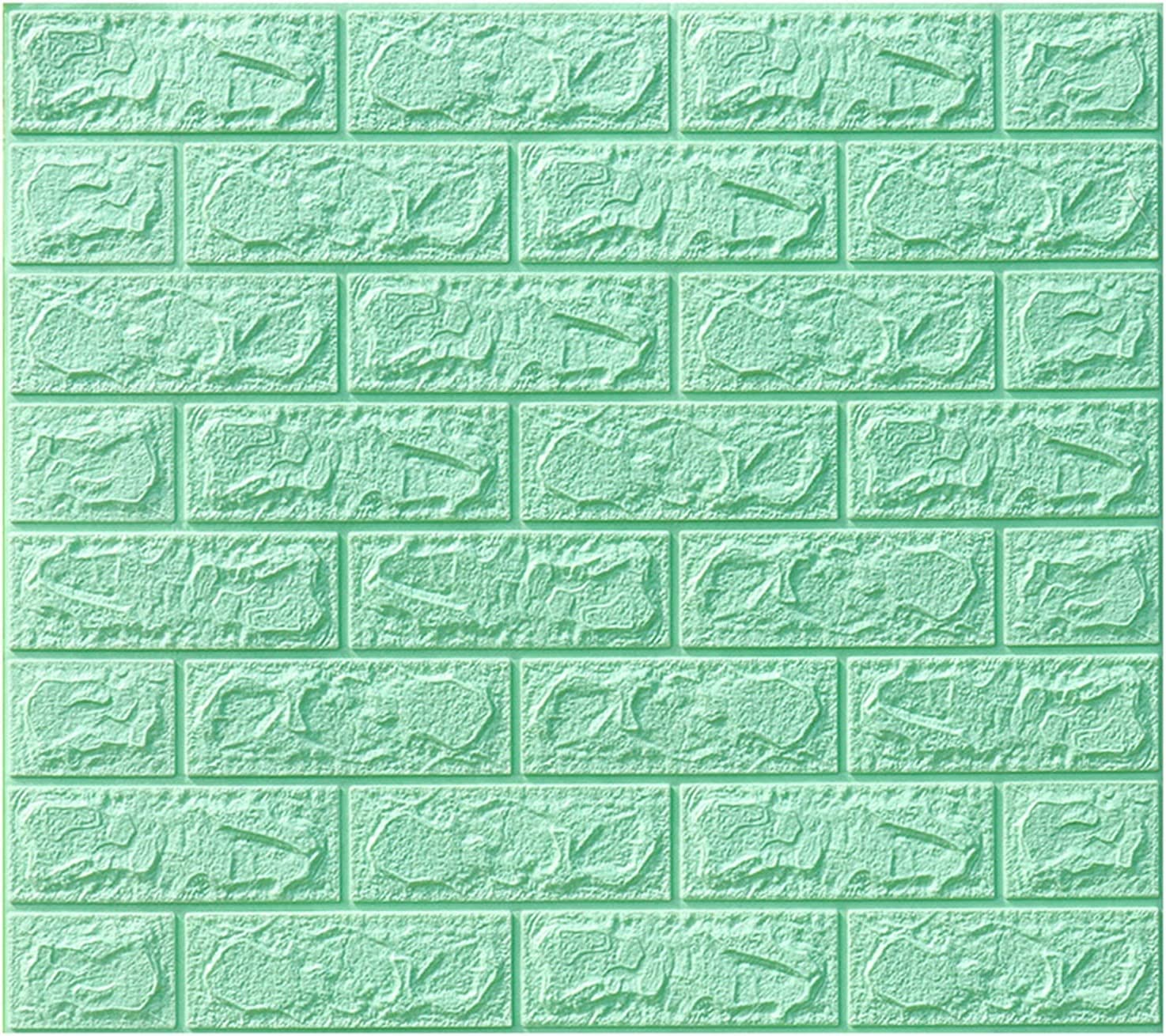 FISISZ Foam Wall Sticker 3D Sacramento Mall and Peel Stick Panels Wallpaper Max 45% OFF