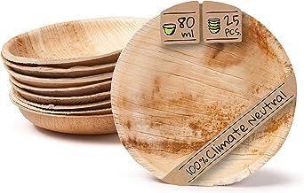 BIOZOYG Set Cuencos Snacks I 25 Piezas orgánicas
