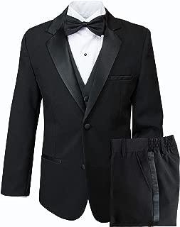 Spring Notion Big Boys' Modern Fit Tuxedo, No Tail