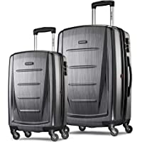 Samsonite Winfield 2 Expandable Hardside 2-Piece Luggage Set (20/28) with Spinner Wheels (Charcoal)