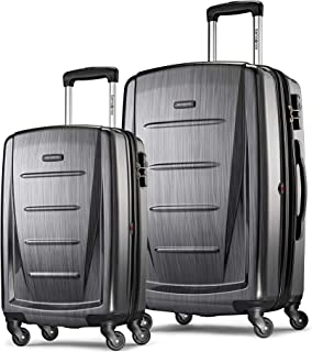 Winfield 2 Expandable Hardside 2-Piece Luggage Set...