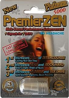 PremierZEN Platinum 5000mg Male Sexual Performance Enhancement %100 AUTHENTIC (6)