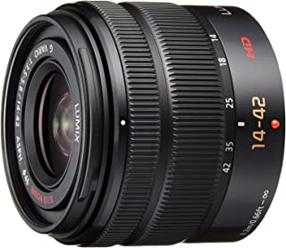 Panasonic LUMIX G Vario 14-42mm / F3.5-5.6 II ASPH. / MEGA O.I.S. Digital Interchangeable Zoom Lens - H-FS1442A - Black (Certified Refurbished)