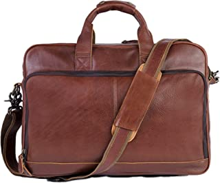 hartmann leather briefcase