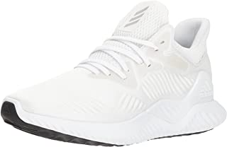 adidas Men's Alphabounce Beyond Running Shoe white/ Silver Metallic/White, 9.5 M US