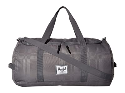 Herschel Supply Co. Sutton (Quiet Shade Plaid) Duffel Bags