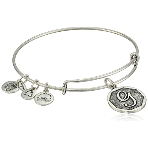 16949c5007a Alex and Ani Initial Expandable Wire Bangle Bracelet