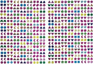 Hestya Sticker Earrings 3D Gems Sticker Girls Stck on Earrings (1680 Pieces)