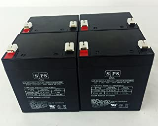 12v 5Ah HP R3000 XR UPS Replacement Battery SPS BRAND (4 PACK)