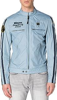 Blauer Korte jas voor heren, gevoerd