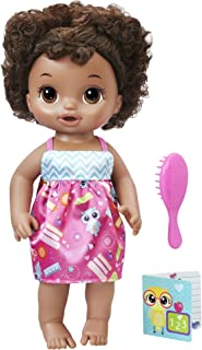 mixed race doll with curly hair