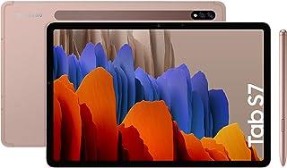 """Samsung Galaxy Tab S7 - Tablet de 11"""" con pantalla QHD (Wi-Fi, Procesador Qualcomm Snapdragon 865+, RAM de 6GB, ROM de 128..."""
