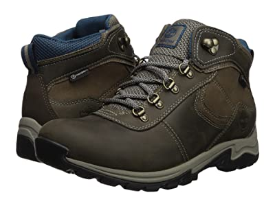 Timberland Mt. Maddsen Mid Leather Waterproof (Medium Grey Full Grain) Women