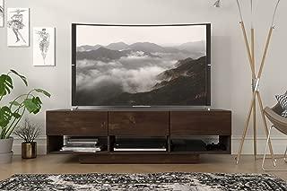 Nexera Stereo, Truffle 60-inch TV Stand,