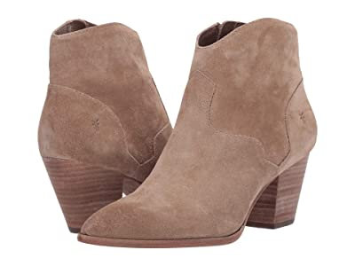 Frye Reed Bootie (Beige Multi Waxed Oiled Suede) Women