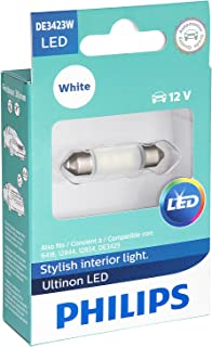 Philips DE3423 Ultinon LED Bulb (White), 1 Pack