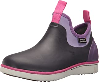 Bogs Riley Kids Slip-On Waterproof Low Top Rain Boot for Boys and Girls