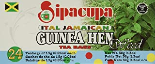 Anamu Tea (Jamaican Guinea Hen Weed 100%) Roots and Leaves by SipaCupa