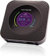 NETGEAR Nighthawk M1 Mobile Hotspot 4G LTE Router MR1100 - Up to 1Gbps Download Speed   WiFi Connect Up to 20 Devices   Create A WLAN Anywhere   Unlocked to Use Any Sim Card