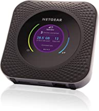 NETGEAR Nighthawk M1 Mobile Hotspot 4G LTE Router Mr1100 - Up to 1Gbps Download Speed | WiFi Connect Up to 20 Devices | Create A WLAN Anywhere | Unlocked to Use Any Sim Card