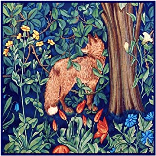 Orenco Originals Forest Fox by William Morris Counted Cross Stitch Pattern