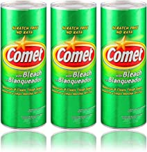 Comet Cleaner with Bleach Powder 21-Ounces   Scratch-Free   (3-Pack)