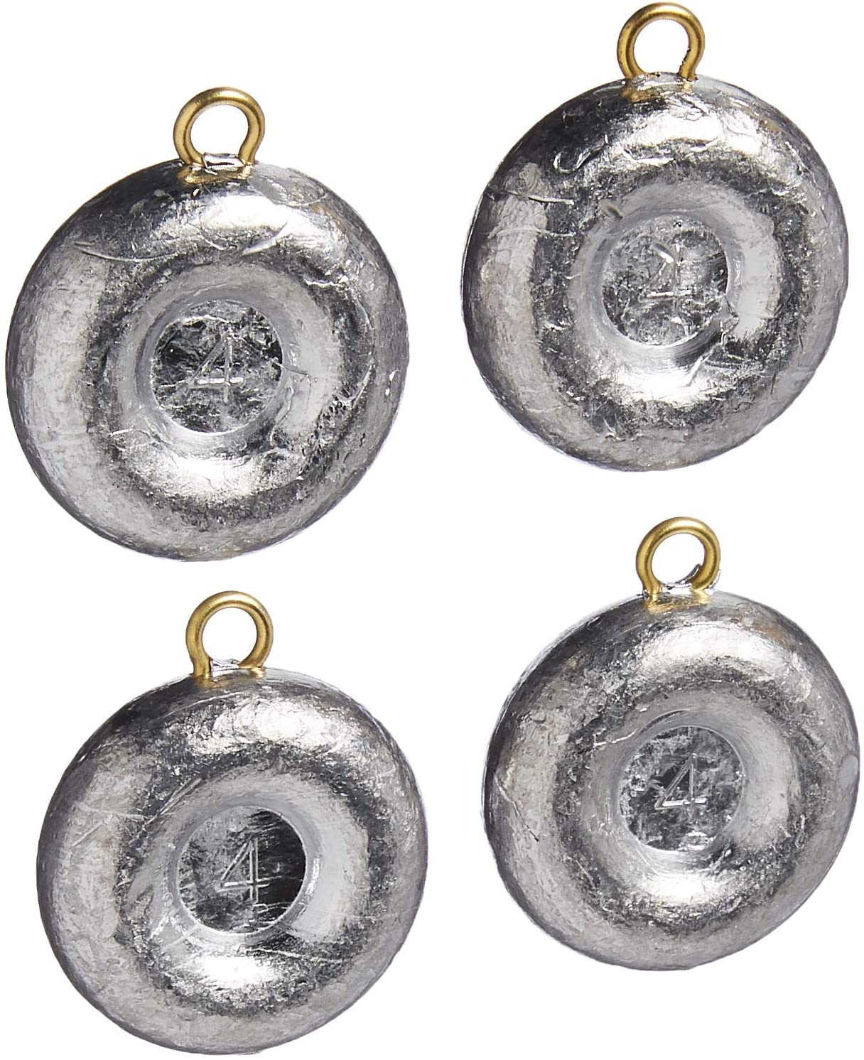 Bullet Weights Disc Fishing Sinker : Sports & Outdoors
