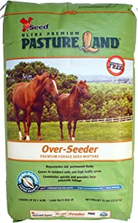X-Seed 440FS0021UCT185 Pasture Land Over-Seeder Forage Seed, 25-Pound