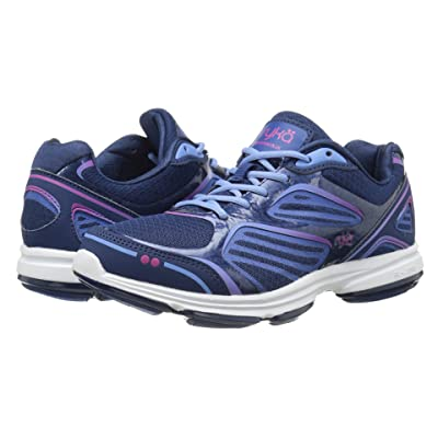 Ryka Devotion Plus (Jet Ink Blue/Royal Blue/Elite Blue/Ryka Pink) Women
