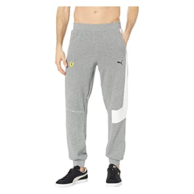 PUMA SF Sweat Pants (Medium Gray Heather) Men