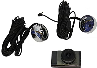 Say1st 3EYE 3 Inch Display Three Camera Car Taxi Camera 1 Front HD Cam 2 Side View Mirror D1 Cams Accident Camera India