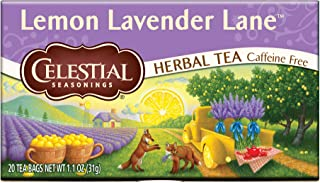 Celestial Seasonings Herbal Tea Lemon Lavender Lane, 20 CT