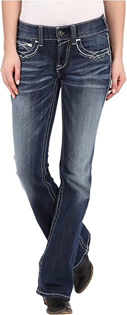 Ariat - R.E.A.L.™ Boot Cut Entwined Jeans in Marine