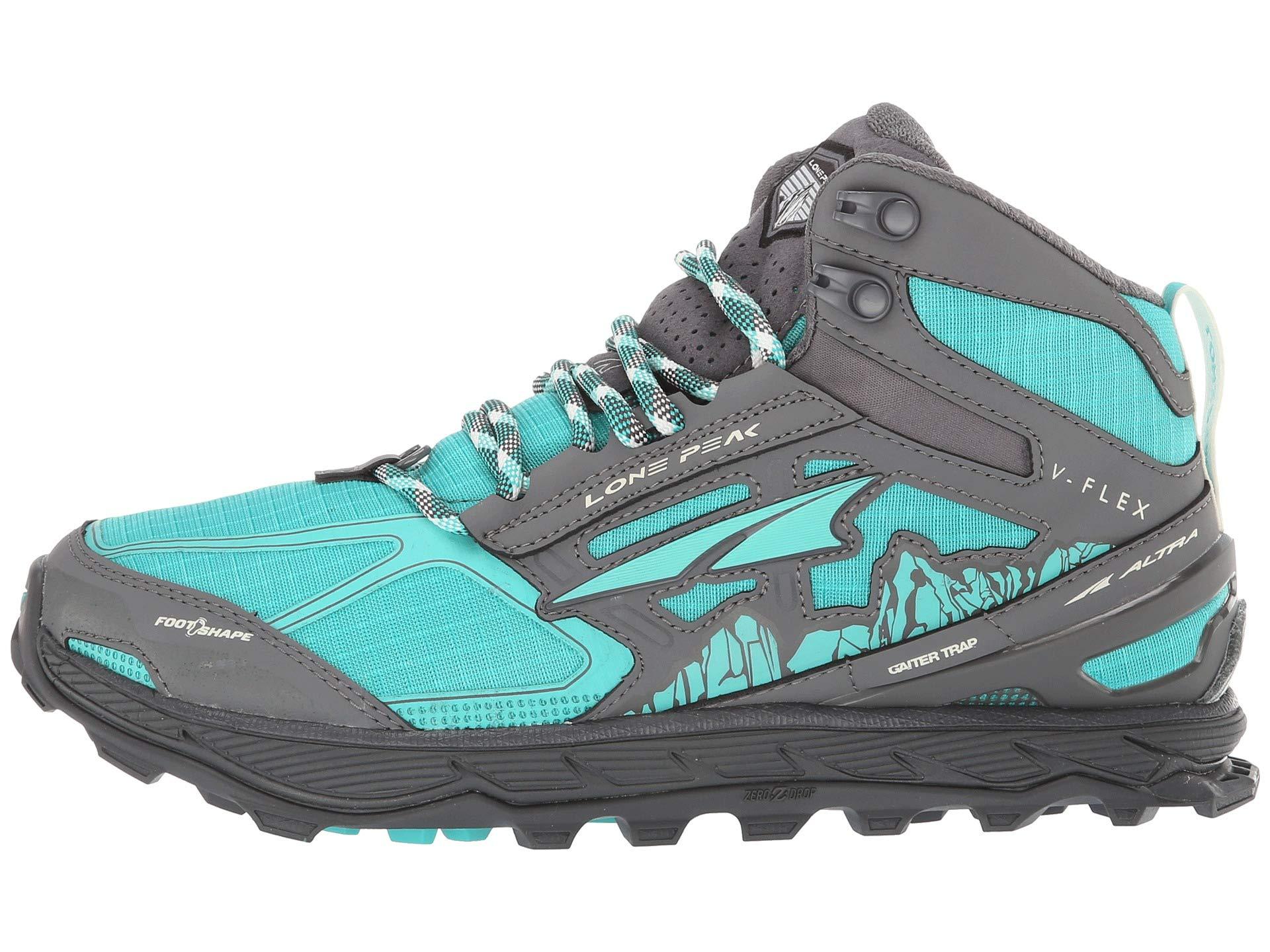 Mesh Peak Mid Altra Lone Footwear gray 4 Teal waqwE8XZxF