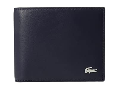 Lacoste FG Small Billfold (Peacoat) Bill-fold Wallet