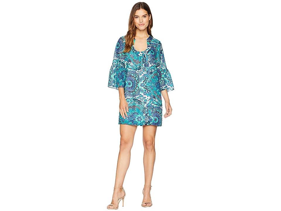 Trina Turk Bonita Dress (Sapphire) Women
