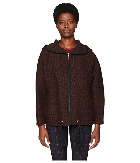 See by Chloe Oversized Brown Bomber