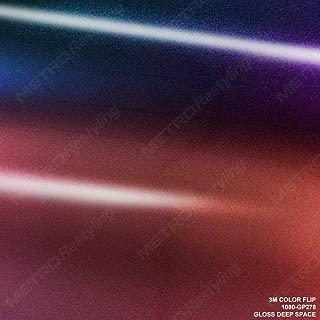 3M 1080 GP278 Gloss FLIP DEEP Space 3in x 5in (Sample Size) Car Wrap Vinyl Film