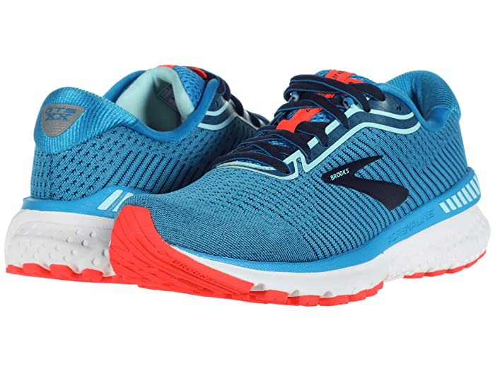 Brooks  Adrenaline GTS 20 (Blue/Navy/Coral) Womens Running Shoes