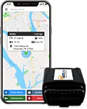 MOTOsafety OBD GPS Car Tracker, Vehicle Tracking Device and Monitoring System with Real-Time Reports, 4G with Phone App