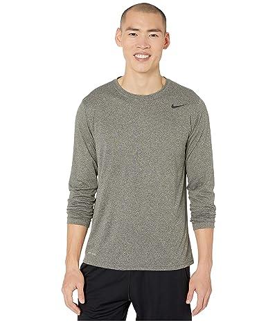 Nike Legend 2.0 Long Sleeve Tee (Cargo Khaki/Particle Grey) Men