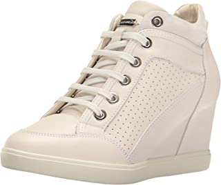 Geox D Eleni C, Sneaker a Collo Alto Donna