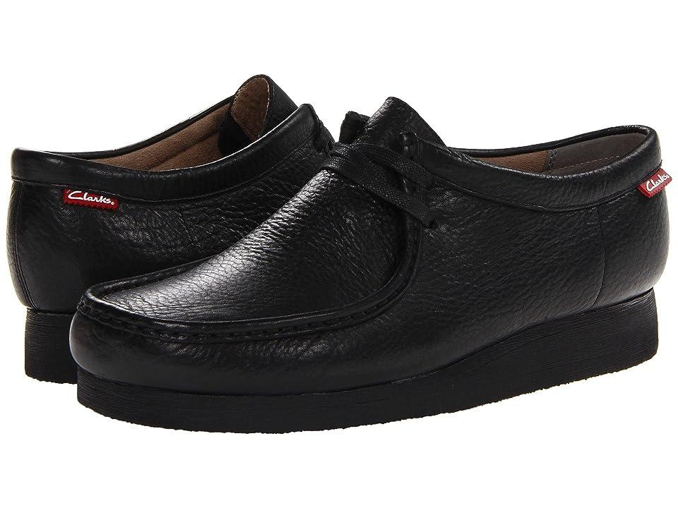 Clarks Stinson Lo (Black Leather) Men