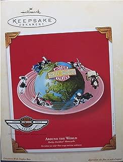 Hallmark Keepsake Ornament Harley Davidson Around The World