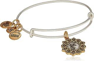Women's Aquarius Two Tone Bangle Bracelet